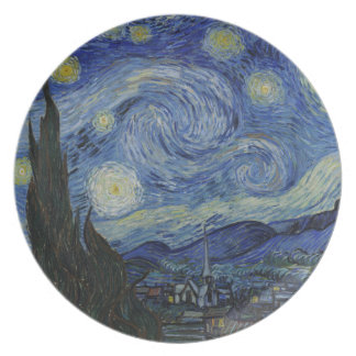 The Starry Night Plate