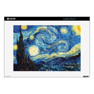 The Starry Night Skins For Laptops