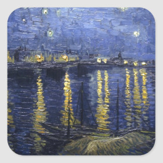 The Starry Night Sticker