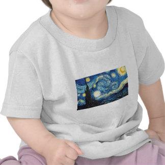 The Starry Night Tee Shirts