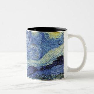 The Starry Night Two-Tone Coffee Mug