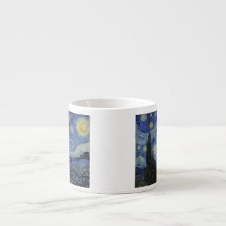 The Starry Night - Van Gogh (1888) 6 Oz Ceramic Espresso Cup