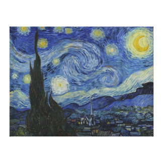 The Starry Night - Van Gogh (1888) Gallery Wrap Canvas