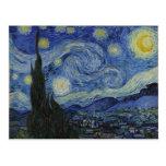 The Starry Night - Van Gogh (1888) Postcards