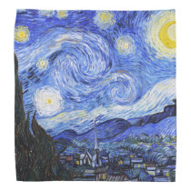 The Starry Night Van Gogh Bandana