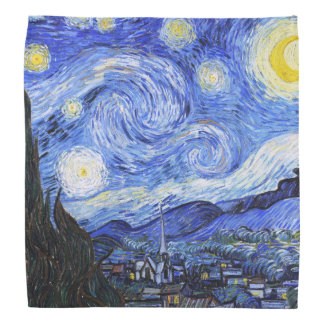 The Starry Night Van Gogh Bandana