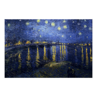 The Starry Night (van Gogh) Poster