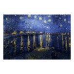 The Starry Night (van Gogh) Print