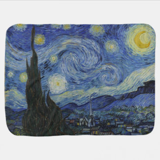 The Starry Night Van Gogh Swaddle Blankets