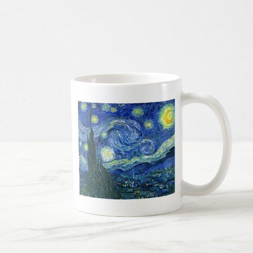 The Starry Night - Vincent van Gogh (1889) Coffee Mugs