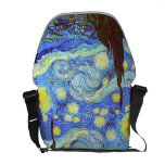 The Starry Night, Vincent van Gogh Courier Bag