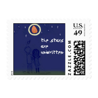 the stars are unwritten postage