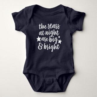 The Stars at Night Texas Baby Bodysuit