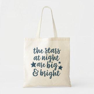 The Stars at Night Texas Tote Bag