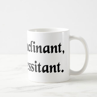 The stars incline; they do not determine coffee mug