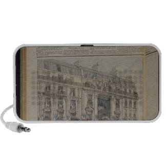 The start of the Paris-Brest bicycle race iPhone Speakers