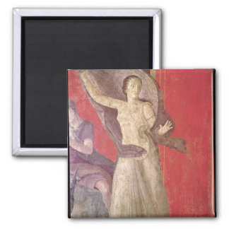 The Startled Woman, North Wall 2 Inch Square Magnet