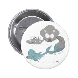 The Starving Artist 2 Inch Round Button