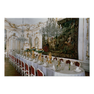 The State Banqueting Hall designed by Nikolaus Poster