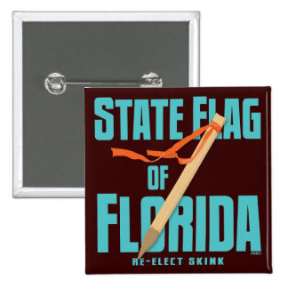 The State Flag of Florida Pin