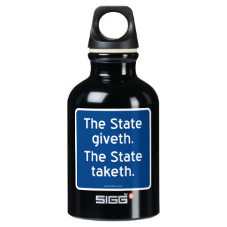 The State giveth. The State taketh. SIGG Traveler 0.3L Water Bottle