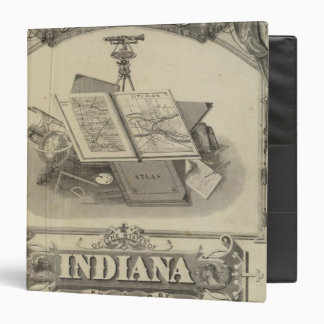 The State of Indiana 3 Ring Binder