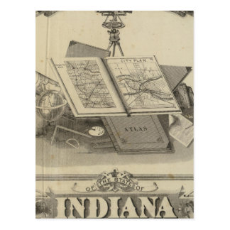 The State of Indiana Postcard