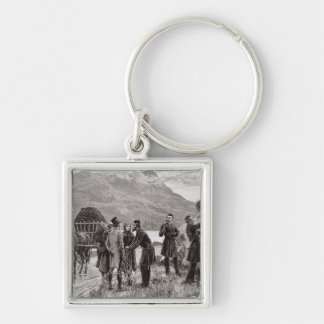 The State of Ireland Key Chain
