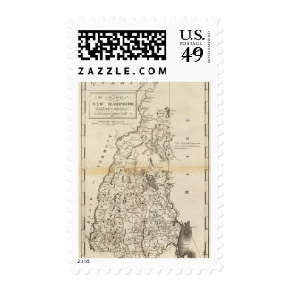 The State of New Hampshire Stamp