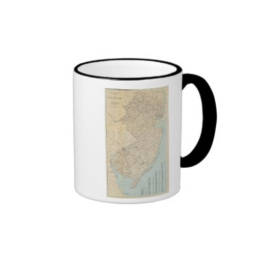 The State of New Jersey, 1877 Coffee Mug