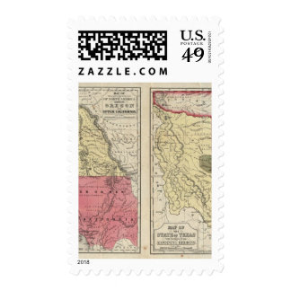 The State Of Texas Postage Stamps