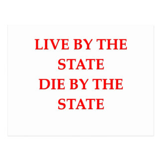 the state postcards