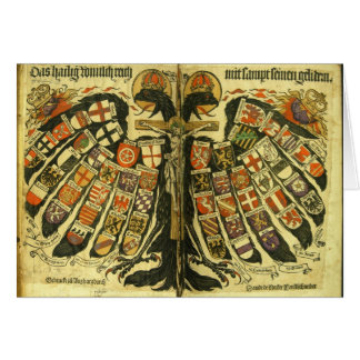 The States of the Holy Roman Empire Jost de Negker Card