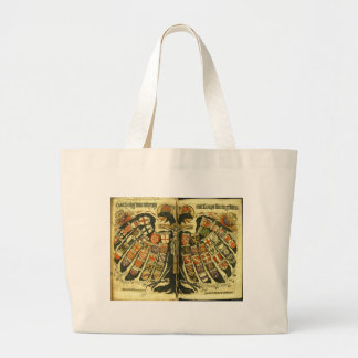 The States of the Holy Roman Empire Jost de Negker Large Tote Bag