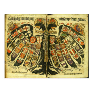 The States of the Holy Roman Empire Jost de Negker Postcard