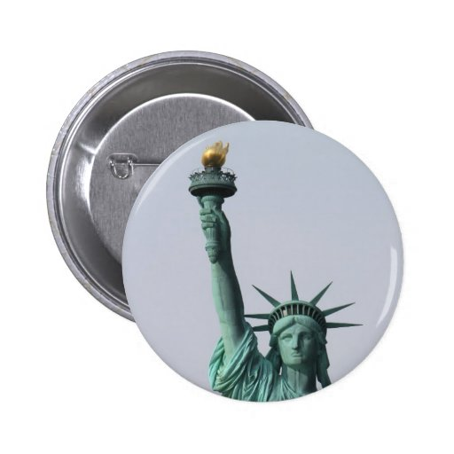 The Statue of Liberty 2 Inch Round Button