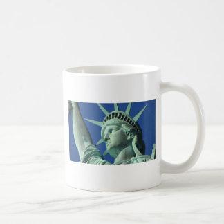 The Statue Of Liberty At New York City Coffee Mug
