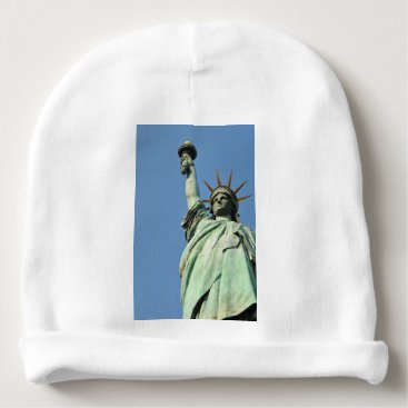 USA Themed The statue of liberty baby beanie