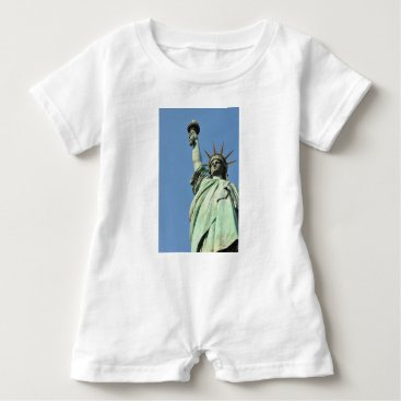 USA Themed The statue of liberty baby romper
