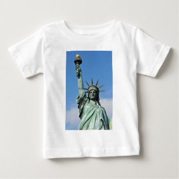 USA Themed The statue of liberty baby T-Shirt