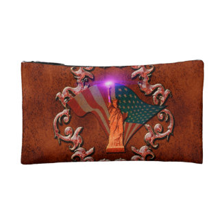 The Statue of Liberty Makeup Bags