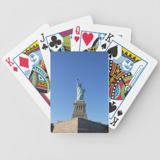 The Statue of Liberty Bicycle Playing Cards