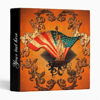 The Statue of Liberty Vinyl Binders