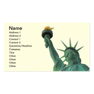 The Statue of Liberty Business Card Templates