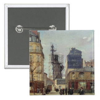 The Statue of Liberty, by Bartholdi Pinback Button