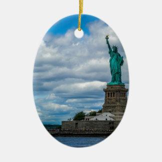 The Statue of Liberty Ceramic Ornament