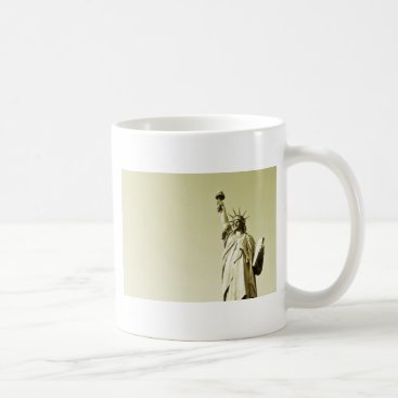 USA Themed The statue of liberty coffee mug