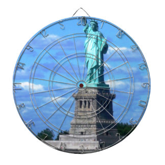 The Statue of Liberty Dart Board