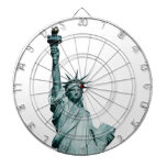 The Statue of Liberty Dart Boards