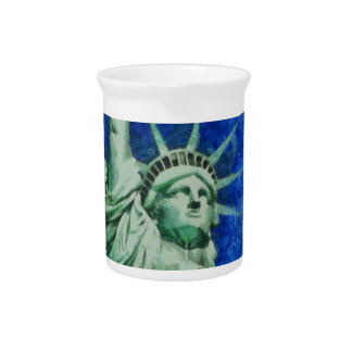 The Statue of Liberty Drink Pitcher
